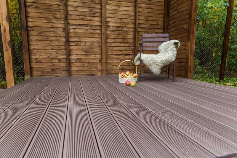 Готовая терраса